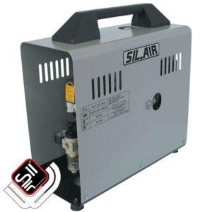 Sil-Air 50D-Flüsterkompressor-tragbar