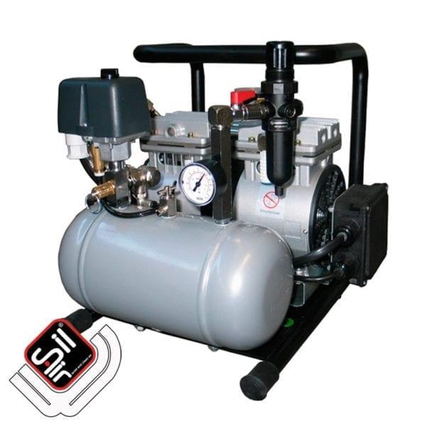 CMD-90-4-SilAir-ölfreier Kompressor