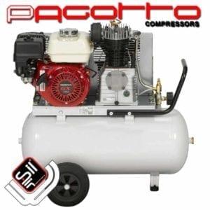 Kolbenkompressoren mit Benzinmotor für Einsätze ohne Stromanschluss